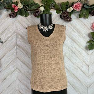 Vintage Pendleton Knit Sleeveless Top Medium
